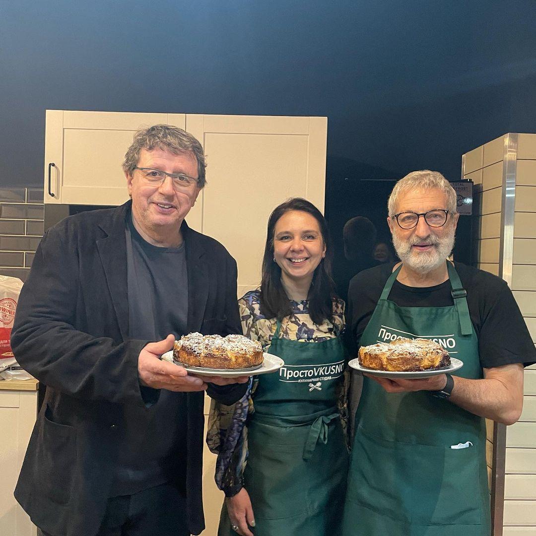 Кулинарный вечер в компании Михаила Ширвиндта и Сергея Цигаля